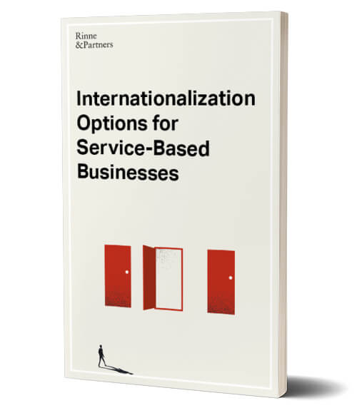 Rinne & Partners Internationalization Options for Service-Based Businesses
